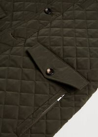 Belsetta Quilted Field Coat, thumbnail 3