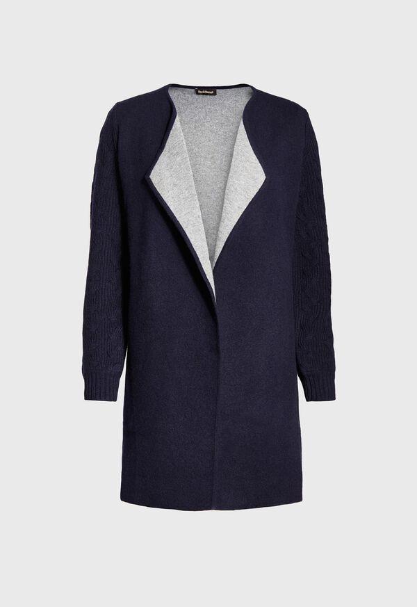 Cashmere Doubleface Coat, image 1