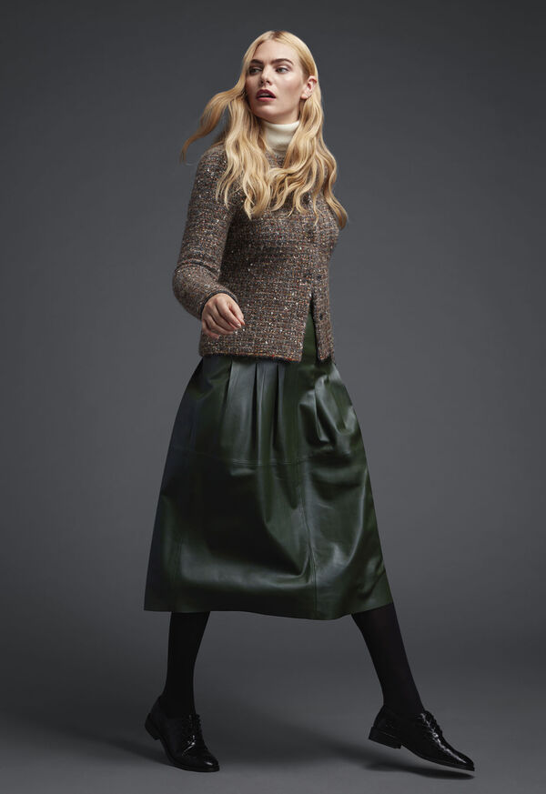 Shop Boucle & Leather Look, image 1