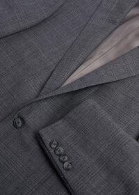 Grey Plaid Wool Suit, thumbnail 2