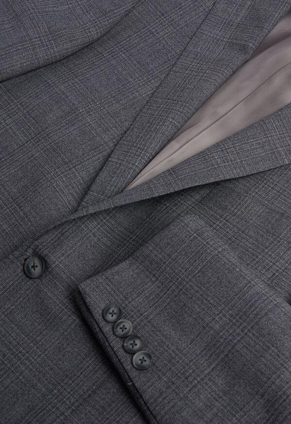 Grey Plaid Wool Suit, image 2