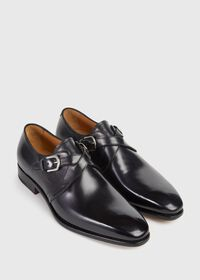 Galante Double Cross Monk Strap, thumbnail 3