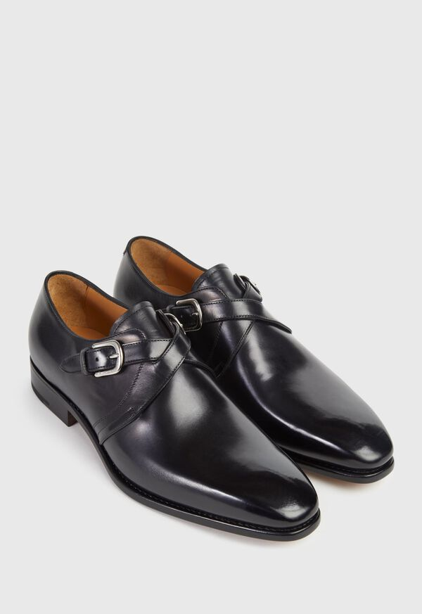 Galante Double Cross Monk Strap, image 3