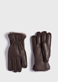Deerskin Glove with Rabbit Fur, thumbnail 1