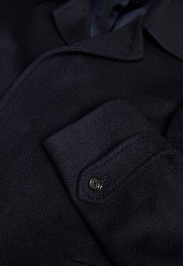 Single Breasted Super 180s Wool Coat, image 3