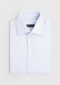 Blue/White Tattersall Dress Shirt, thumbnail 1