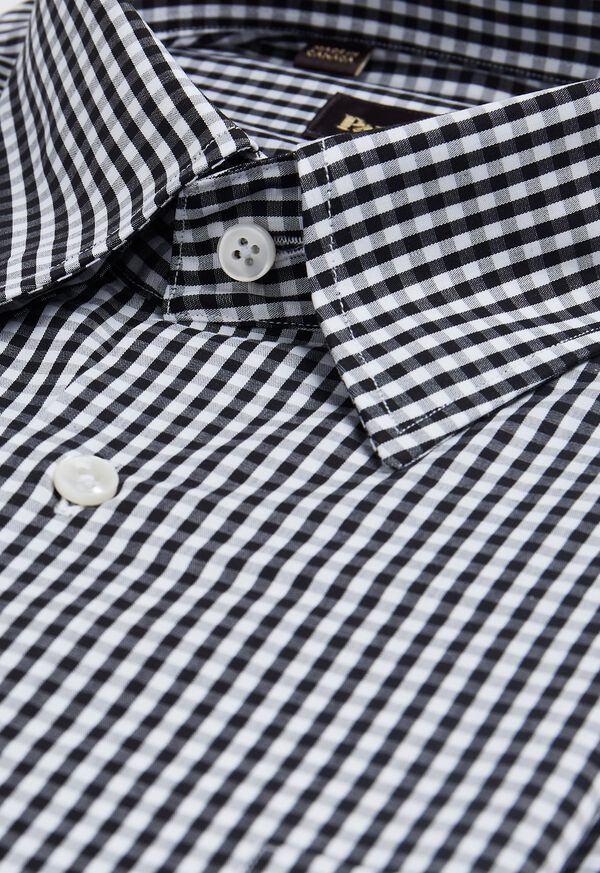 Gingham Cotton Sport Shirt, image 2