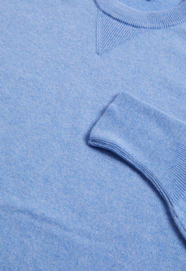 Single Ply Cashmere Sweatshirt, image 8