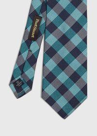 Oxford Check Silk Tie, thumbnail 1