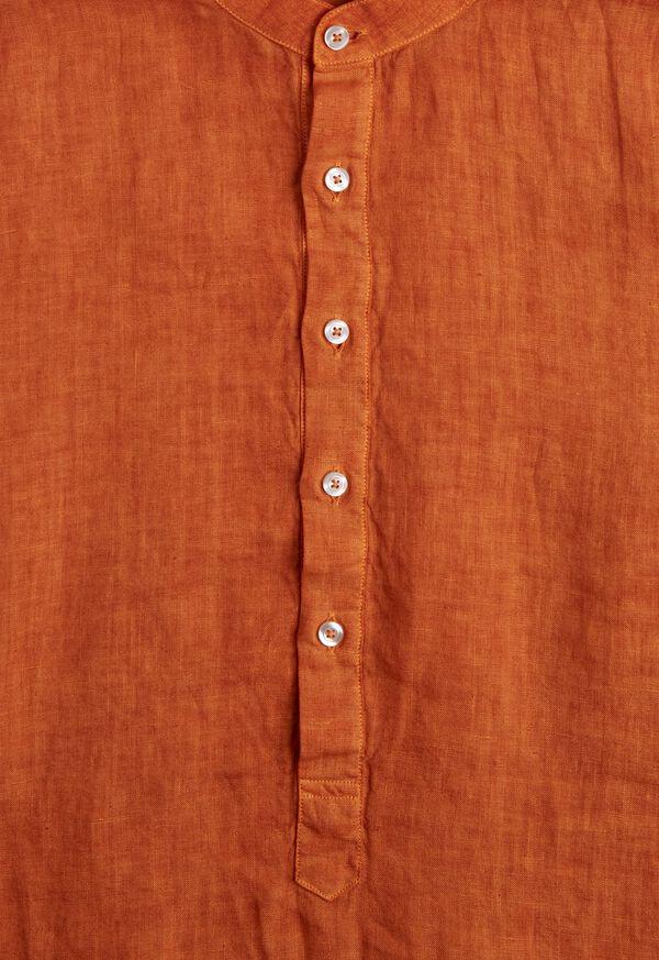 Linen Short Sleeve Popover, image 2