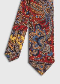 Paisley Printed Tie, thumbnail 1
