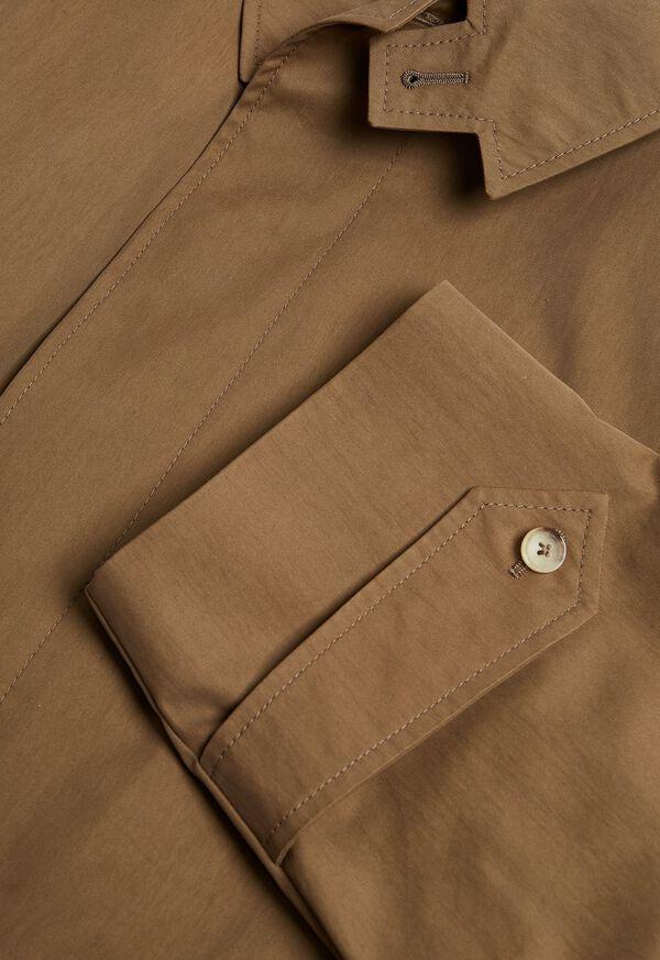 Tan A-Line Rain Coat, image 2