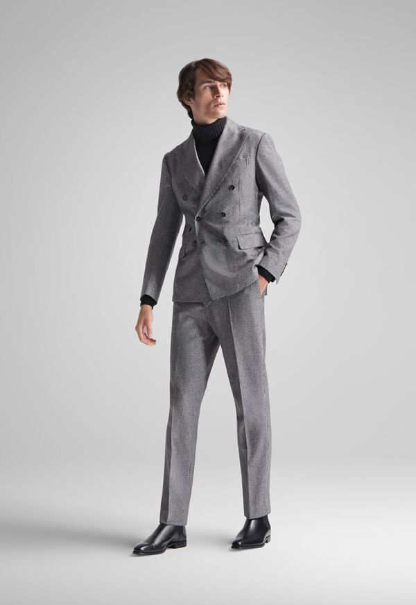 FW21 Paul Stuart Catalog Double Breasted Houndstooth Suit Look, image 1