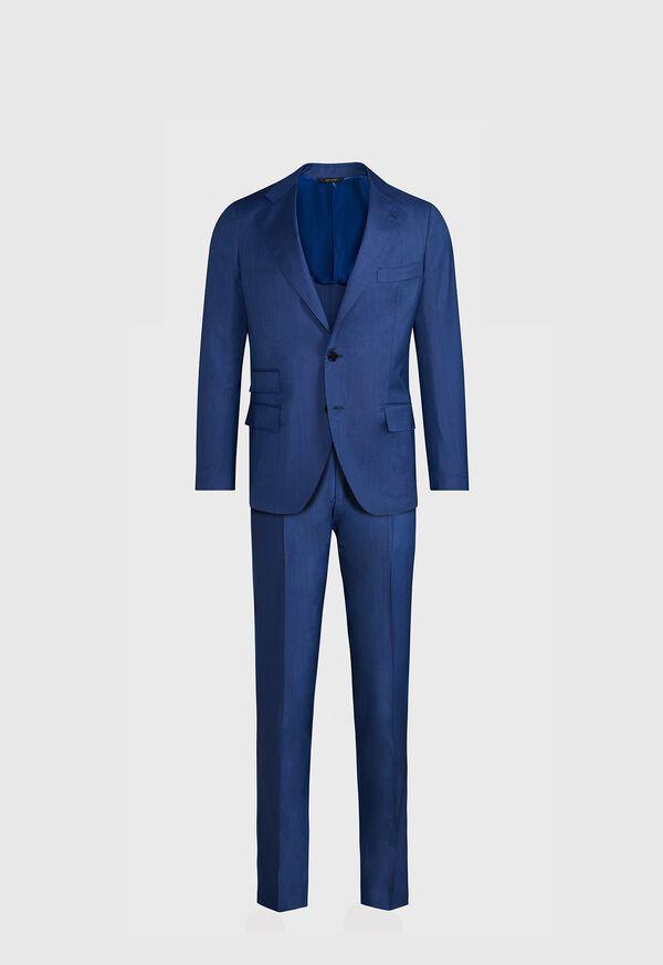 Blue Solid Suit, image 1
