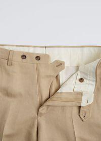 Tan Linen Blend Suit, thumbnail 5