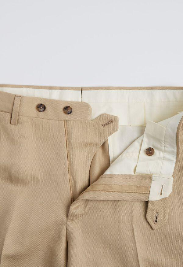 Tan Linen Blend Suit, image 5