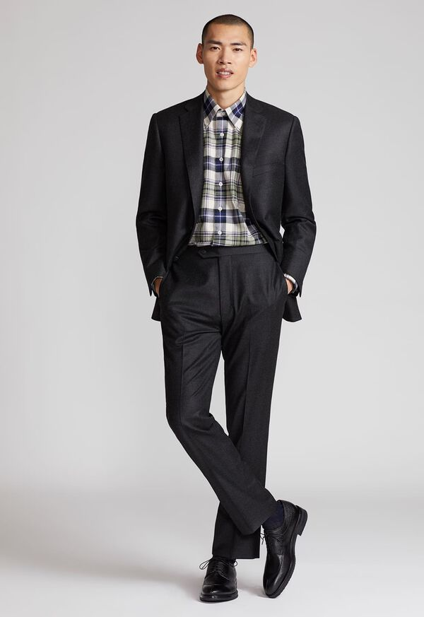 Paul Fit Wool and Cashmere Flannel Suit, image 2