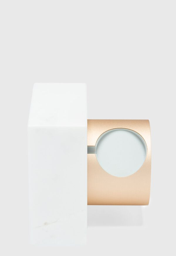 White Marble Apple Watch Charging Dock, image 4