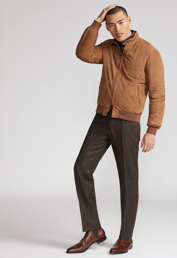 Suede Blouson Jacket, image 3