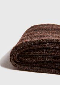Cashmere Blend Ribbed Sock, thumbnail 2