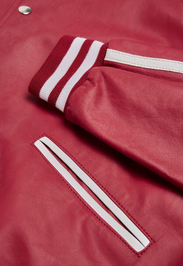 Crimson Bomber Jacket, image 3