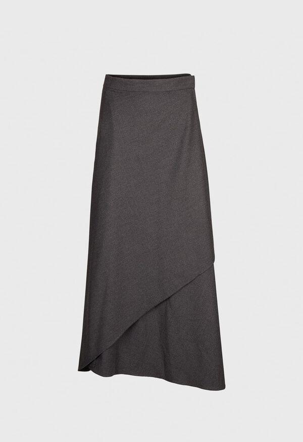 Lightweight Flannel Wrap Around Skirt