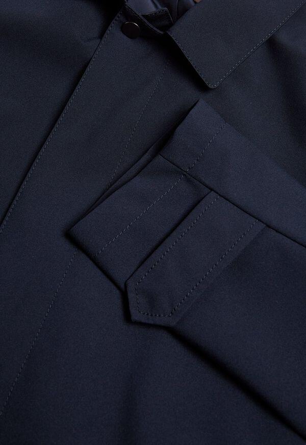 Navy Classic Trench Coat, image 2