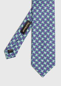 Three Color Houndstooth Tie, thumbnail 1