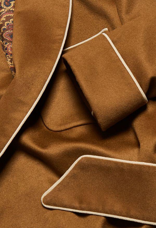 Dark Camel Cashmere Robe, image 2
