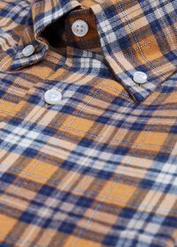 Plaid Brushed Flannel Sport Shirt, thumbnail 2