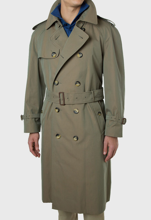 Double Breasted Classic Trench, image 5