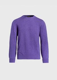 Scottish Cashmere Crewneck Sweater, thumbnail 1