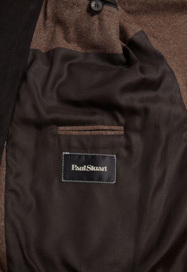 Cashmere Tan Melange Vest Jacket, image 6