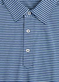 Cotton Blend Stripe Polo, thumbnail 2