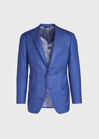 Solid Cashmere Silk Sport Jacket, thumbnail 1