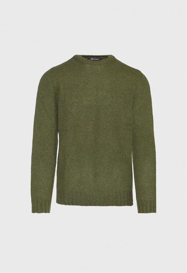 Boucle Crewneck Sweater, image 1