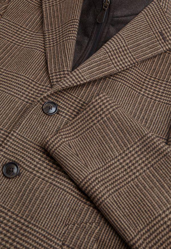 Plaid Coat with Zip-Out Vest, image 3