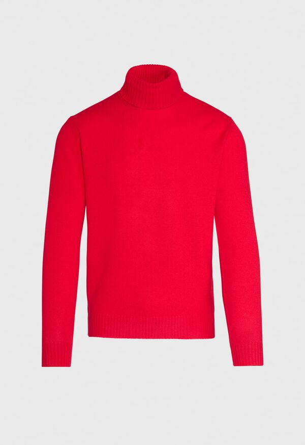 Merino Wool Blend Turtleneck, image 1