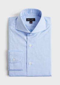 Solid Blue Dress Shirt, thumbnail 1