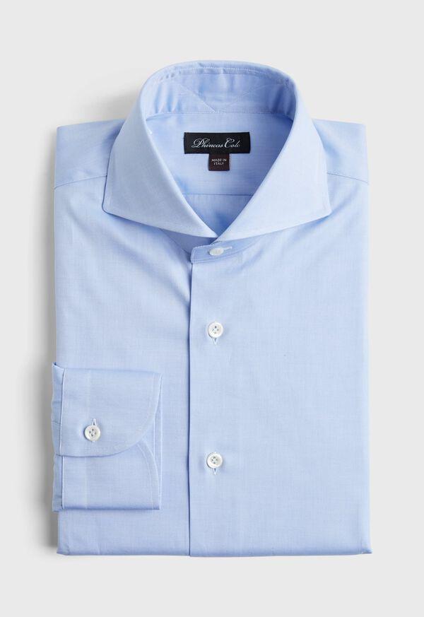 Solid Blue Dress Shirt, image 1