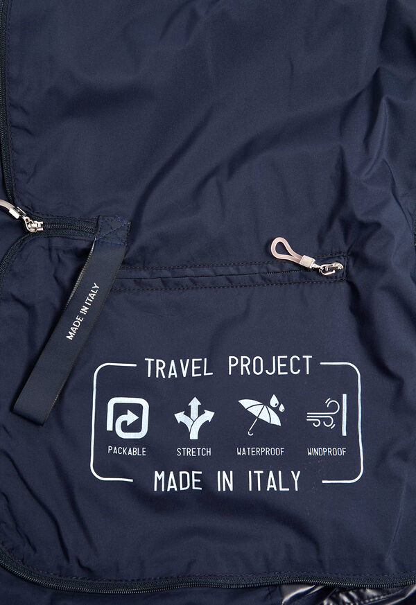 Navy Packable Jacket, image 4