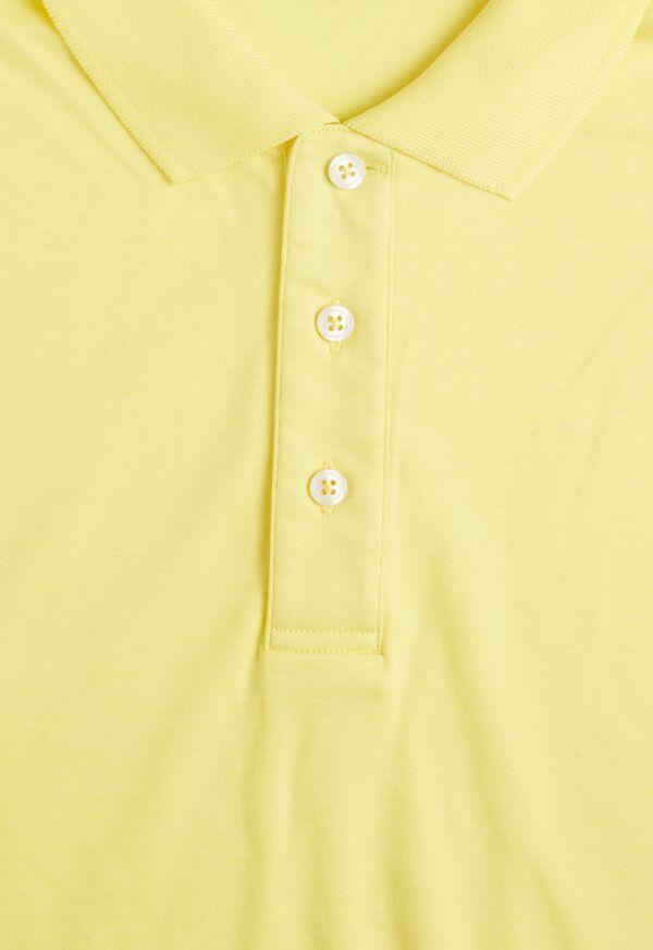 Pima Cotton Interlock Polo, image 19