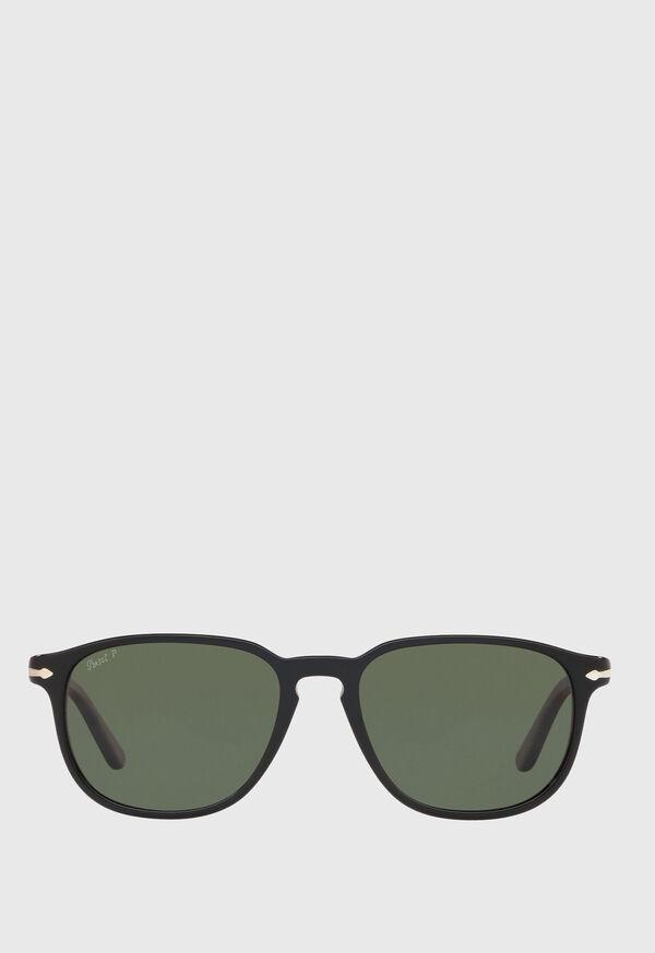 Persol's Black Polarized Sunglasses, image 1