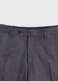 Grey Micro Weave Super 180s Wool Suit, thumbnail 6