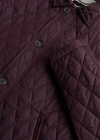 Diamond Quilted Barn Coat, thumbnail 2