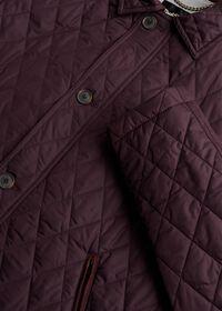 Diamond Quilted Barn Coat, thumbnail 2