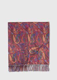 Master Paisley Print Silk Scarf, thumbnail 1