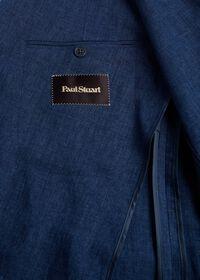 Blue Linen Jacket, thumbnail 5