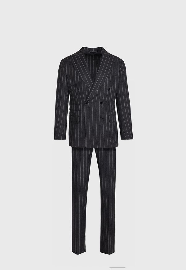 Double Breasted Stripe Suit
