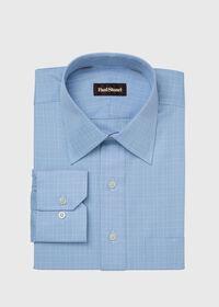 Blue Glen Plaid Cotton Dress Shirt, thumbnail 1